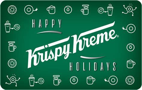Krispy Kreme Gift Card - krispy kreme giftcards