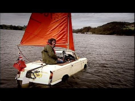 car boat challenge top gear hibious car challenge top gear series 8 bbc youtube
