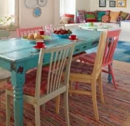 distressed dining set foter