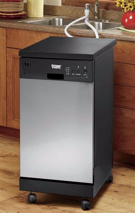 Portable Dishwasher In Apartment 25 Best Ideas About Apartment Size Dishwasher On