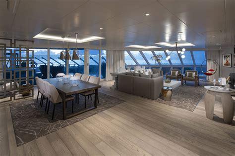iconic suite cruise ship suite  celebrity cruises