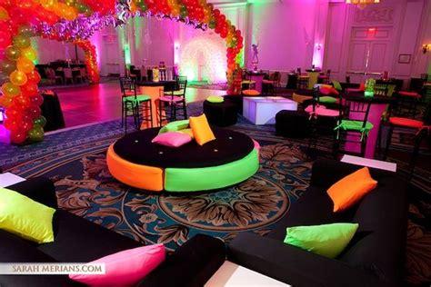 club themed decorations vip club theme bat bar mitzvah ideas neon