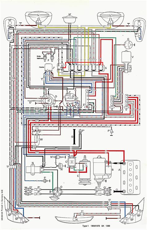 70 vw beetle wiring diagram get free image about wiring