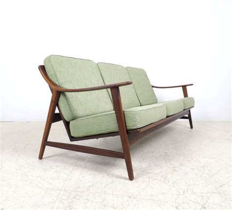 Lounge Sofas by A Lounge Sofa 1950s 1960s In Teak By Mogens Kold