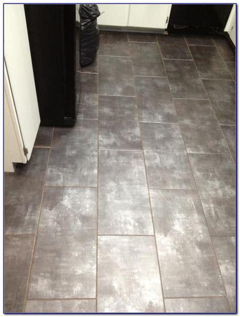 vinyl floor tile with grout lines flooring home