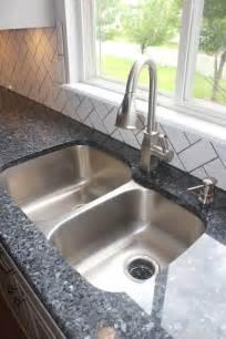 blue pearl granite kitchen makeover white