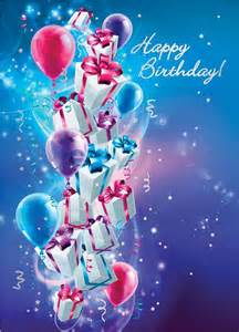 up up and away happy birthday greeting card