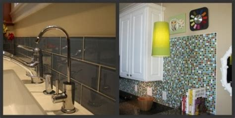 Edging options for modwalls® Lush® and Brio® glass tiles
