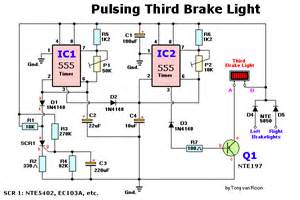 pulsing third brake light circuit diagrams