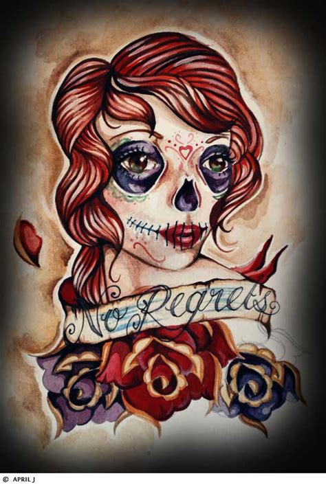 female skull tattoos skull tattoos grim reaper tattoos deer sugar bull
