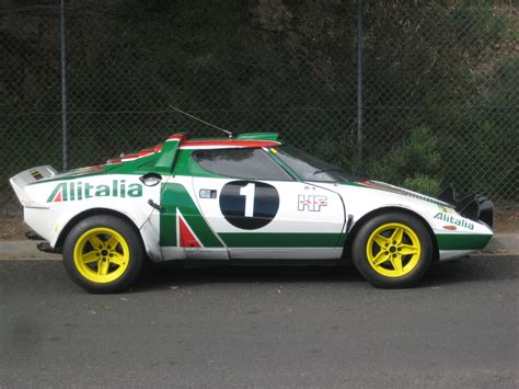Lancia Race Car by Lancia Stratos Rally Car In The 4 Madwhips