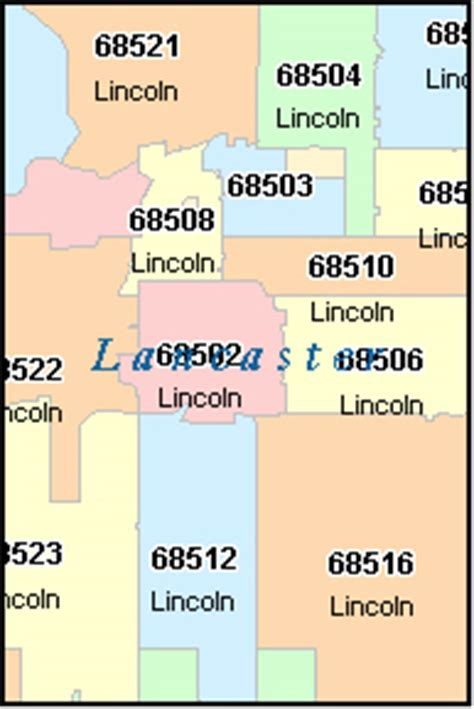 lincoln city or zip lincoln nebraska ne zip code map downloads