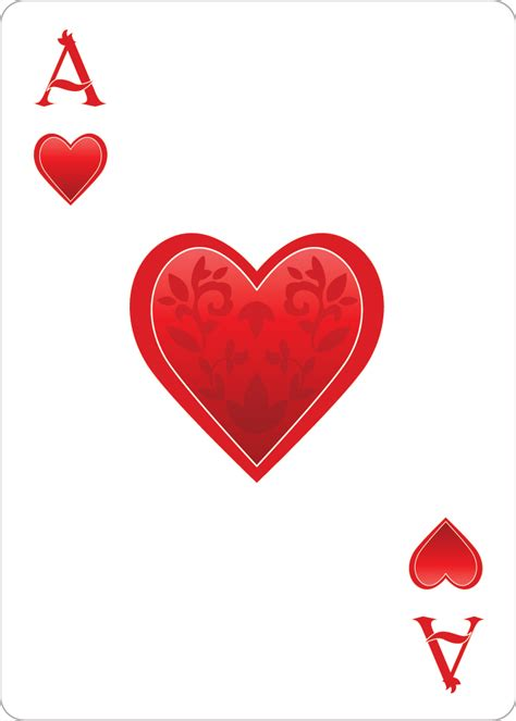 the ace of hearts playing cardalice of wonderland alice