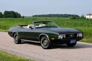1973 Ford Mustang Convertible Wow This 1973 Ford Mustang Convertible Only Has 60