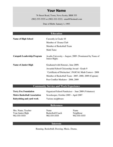 Sample Resume Template Download Resume Samples Download Berathen Com