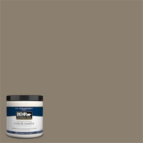 behr premium plus 8 oz 720d 5 mocha accent interior exterior paint sle 720d 5pp the home