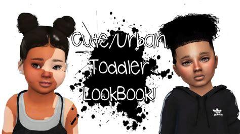 the sims 4 cas create a sim cute urban toddler