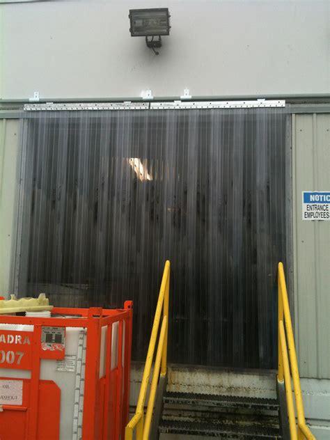 strip curtains com sliding strip door kits strip curtains com