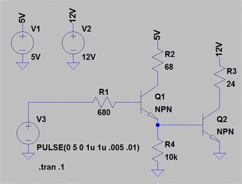 darlington transistor in ltspice darlington transistor ltspice 28 images transistors 101 question about 2 transistor