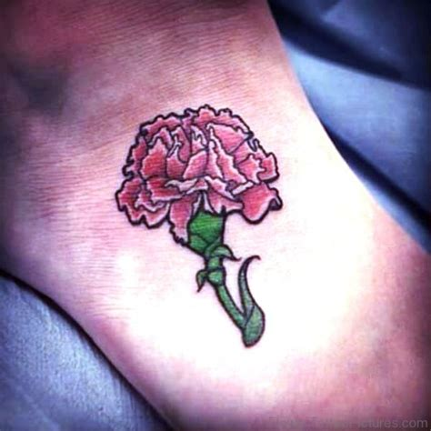 carnation flower tattoo 46 attractive carnation flower tattoos