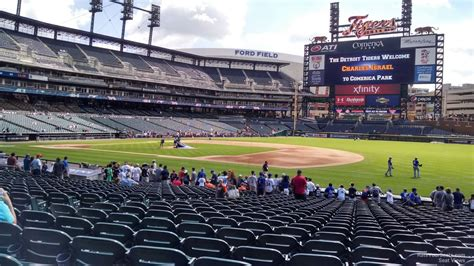 comerica park section  detroit tigers rateyourseatscom