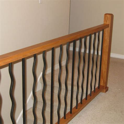contemporary banister rails 6002 contemporary handrail no plow contemporary wood and stainless round bar railing