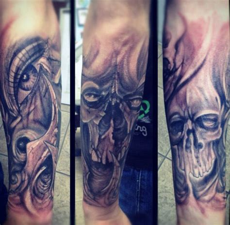 skull forearm tattoos top 80 best skull tattoos for manly designs and ideas