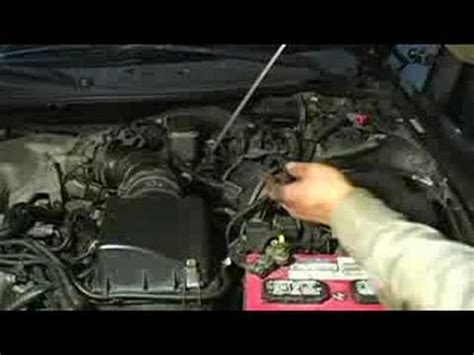 2008 kia amanti how to remove dipstick from a oil pan how to change transmission fluid locating oil pan in