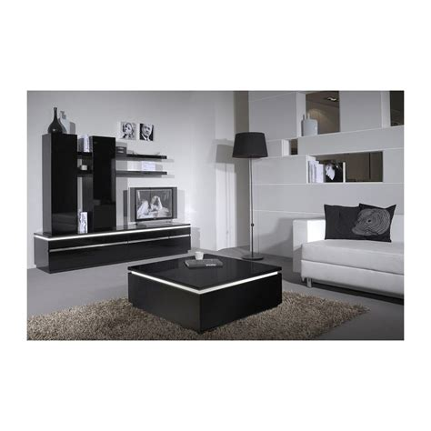 coffee tables with led lights orde black high gloss coffee table with led lights