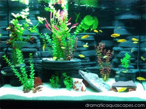 dramatic aquascapes dramatic aquascapes diy aquarium background kodey