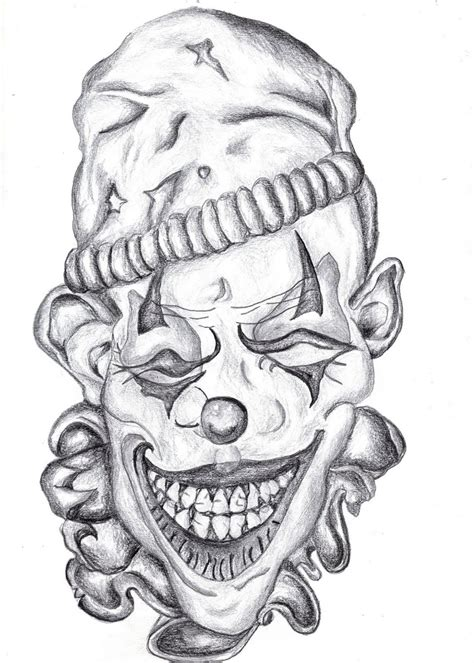 tattoo design joker 12 best ideas images on evil clowns
