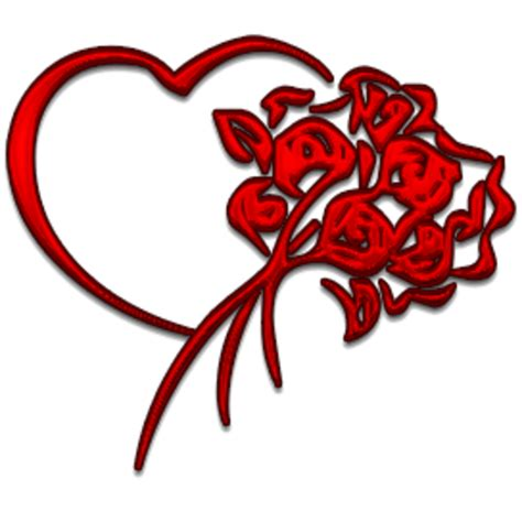 pictures of hearts and roses and flowers free images at clker vector clip
