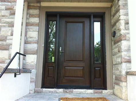 Wood Exterior Doors Canada Fiberglass Doors Toronto 187 Wood Grain Fiberglass Doors