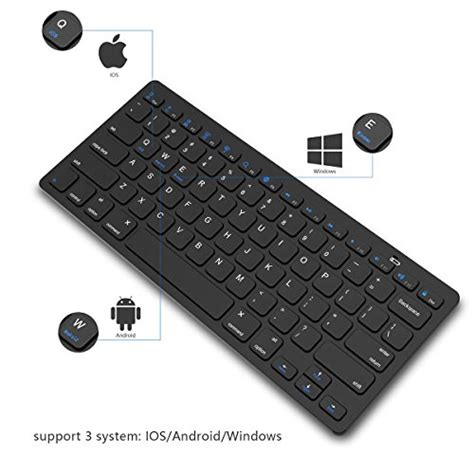 bluetooth keyboard jelly comb universal wireless