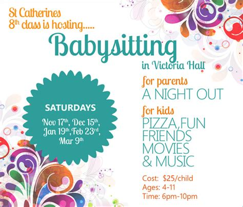 free babysitting flyer templates babysitting flyers babysitting and flyers on