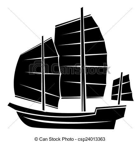 dessin bateau silhouette noir bateau silhouette symbole clip art vectoriel