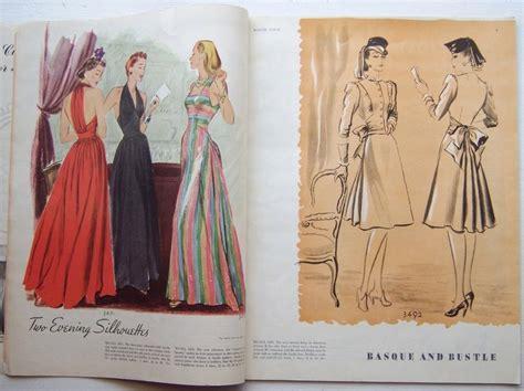 mccalls quiet book pattern mccalls pattern book 1939 featuring mccall 3471 evening