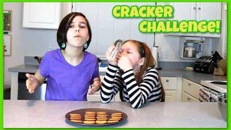 challenges to do with friends challenge saltine ritz cracker with friends