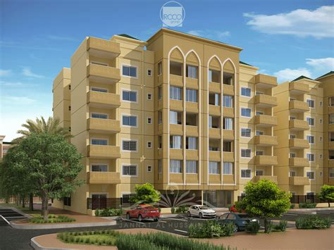 Types Of Apartment Buildings Jannat Al Hussain City In Karbala