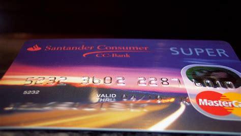 cc bank kredit karte mastercard der santander bank geb 252 hrenfrei kostet