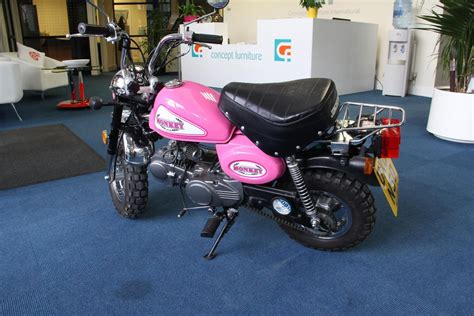 Pinkes Motorrad 125 by Jincheng Pink Monkey Bike 125cc