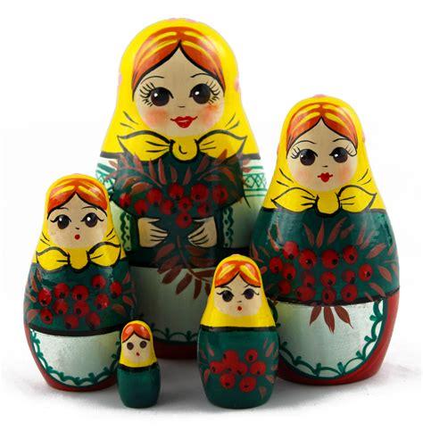 rowan wooden handmade russian doll matryoshka russian toys