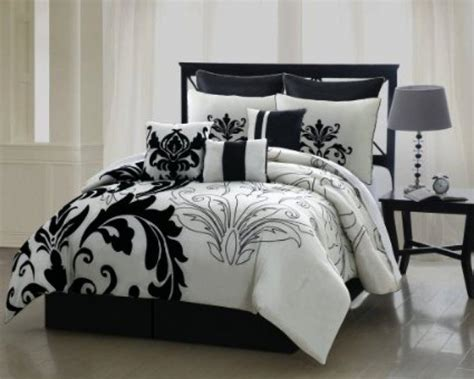 black and white bedding full black and white full size comforter sets lintaspos com