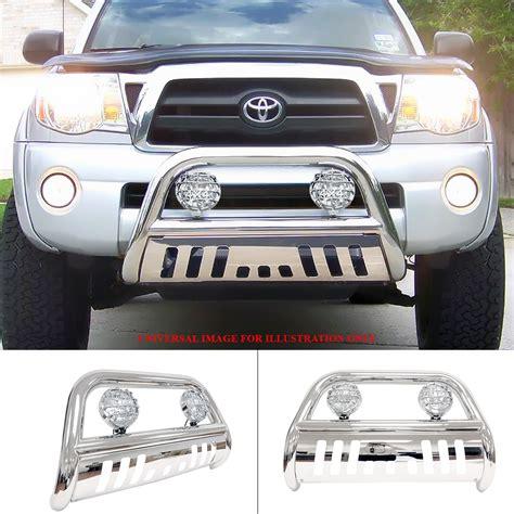 ford explorer light bar bliz chrome push combo bull bar off road light for 11 15