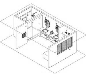 Isometric Floor Plan by Gallery 187 20 20 Design New Zealand 2d 3d Kitchen