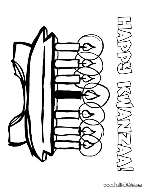 kwanzaa coloring pages hellokids com