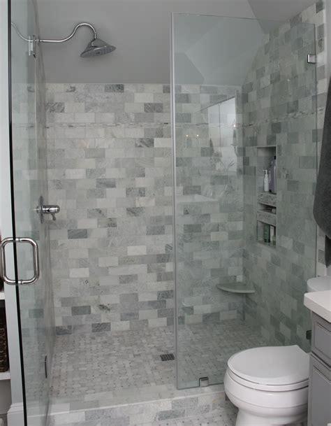 green marble tile bathroom bathroom marble subway tile ming green shower