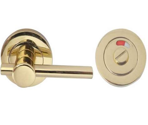 how to remove bathroom door handle with lock welling architectural ironmongery 52x8mm polished brass