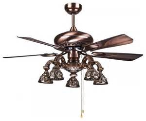 Ceiling Fan Lamps Big Antique Brass Ceiling Fans Lamp For Living Room