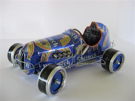 Handmade Model Cars - handmade model cars built with recycled cans gadgetsin